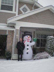 Keith and Frosty